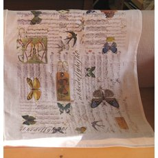 Music and Butterflies Teatowel  Please Click the image for more information.