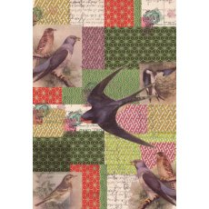 A4 Antique Birds 10 Pack  Please Click the image for more information.