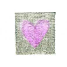 Crosshatch Big Pink Heart ON SALE