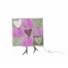 Crosshatch Chequered Heart (ON SALE)  Please Click the image for more information.
