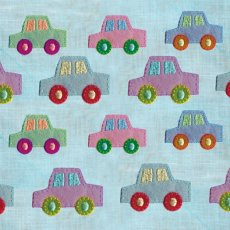 Cars Hand applied embroidery on printed card Please Click the image for more information.