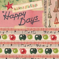 Retro Xmas - Happy Days (145mm sq)  Please Click the image for more information.
