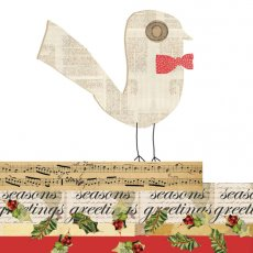 Birdy Num Birdy Bow Tie (Lge)  Please Click the image for more information.
