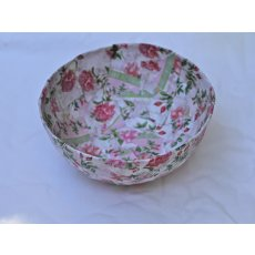Rosy Bowl Divine handmade roseprint papiermache breakfastsized bowl decorated with Skyes own rose paper. Please Click the image for more information.