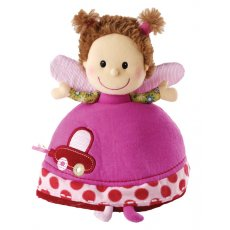 Lilliputiens - Liz Reversable Rattle  Action  reaction baby shakes the rattle  it makes a noise Liz the little elf quickly changes into a superb ladybird full of amazing discoveries This is. Please Click the image for more information.