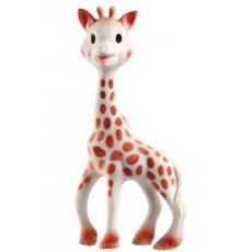 sophie the giraffe Sophie the giraffe is slender flexible and soft baby can squeeze and chew her in complete safety Lovable and amusing Sophie laughs when her body is squeezedSoph. Please Click the image for more information.
