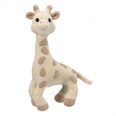 sophie the giraffe soft toy This very soft velvet giraffe with a tinkling bell will keep baby company all through the day Made from 100 organic cotton with a maize fibre filling the So Pure Sophie the Giraffe is kind on both baby and the environment Sta. Please Click the image for more information.