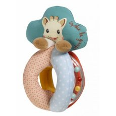vulli sophie the giraffe rattle with beads Bright colours and a range of patterns to stimulate babys sight A variety of soft textures with a plastic ring to rattle and watch the coloured beads move E. Please Click the image for more information.