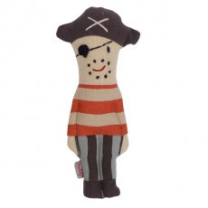 maileg pirate captain rattle Maileg pirate captain is dressed in stripy clothes a captains hat stubble and a pirates eye patch  Imaginative play can include our Maileg pirate ship pirate crew mermaid and shark  Each . Please Click the image for more information.