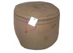 HESSIAN OTTOMAN-NATURAL VINTAGE LOOK OTTOMAN Please Click the image for more information.