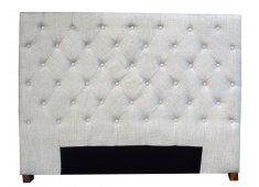 SINGLE-QUILTED BEDHEAD-BEIGE  Please Click the image for more information.