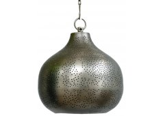 PERFORATED METAL PENDANT-PEWTER  Please Click the image for more information.