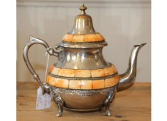 CAMEL BONE TEAPOT This Moroccan teapot features camel bone inlay  A beautiful piece Please Click the image for more information.