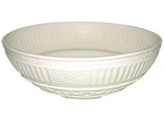 ORNATE BOWL  WHITE  Please Click the image for more information.