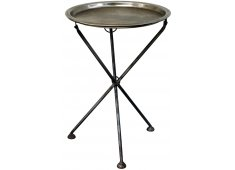 NICKEL PLATED TRAY ON STAND  Please Click the image for more information.
