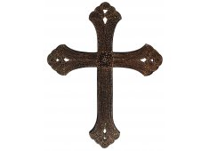 BROWN PAINTED CROSS-LARGE  Please Click the image for more information.