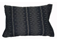 IKAT HILLTRIBE CUSHION-DK BLUE PATTERNS MAY VARY Please Click the image for more information.