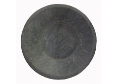 ROUND STONE BOWL HAND CARVED STONE BOWL Please Click the image for more information.