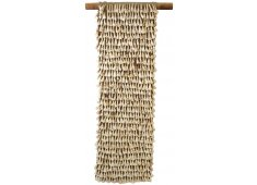 COW BONE (TOOTH) WALL HANGING-LARGE PRIMITIVE WALL ART MADE FROM COWS TEETH Please Click the image for more information.