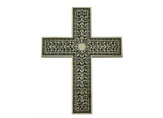 BONE INLAID CROSS CAMEL BONE Please Click the image for more information.