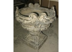 VINTAGE IRON POT RUSTIC OLD POT Please Click the image for more information.