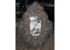 IRON PICTURE FRAME DISTRESSED FINISH Please Click the image for more information.