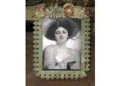 IRON PICTURE FRAME PRETTY FRAMEDISTRESSED FINISH Please Click the image for more information.