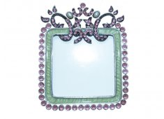 GLASS METAL FRAME