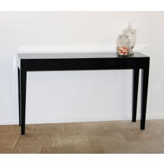 """Metro"" Gloss Hall Table Console 130cm Black The Metro Gloss Hall Table Console will add the perfect touch to any room Combining style sophistication and superb quality our Metro Gloss Range offer excellent value for moneyAvail. Please Click the image for more information."