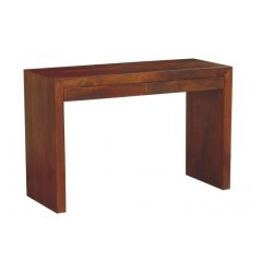 """Block"" Hardwood Console 2 Drawers 120x45cm Toffee The stylish Block Hardwood Console Table with 2 Drawers 5cm high x 25cm depth is the perfect combination of style practicality and excellent value for money With. Please Click the image for more information."