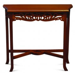 Hand Carved Mahogany Timber Side Hall Console Table 82cm This Hand Carved Mahogany Timber Side Hall Console Table will make the perfect addition to your home. Please Click the image for more information.