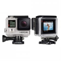 Gopro HERO4 Silver Adventure  Proquality capture Touchdisplay convenienceCapture your world in an allnew way with HERO4 Silver the firstever GoPro to feature a builtin touch display Controlli. Please Click the image for more information.