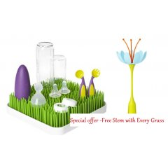Boon Counter top Drying Rack Grass with FREE Accessory A fresh take on drying racksFrom bottles to pacifiers Grass holds all your baby accessories as they air dry on the flexible blades that resemble real grass Wate. Please Click the image for more information.