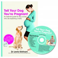 Tell your Dog that your Pregnant CD & Book Tell Your Dog Youre Pregnant offers a practical intuitive approach for creating a loving bond between your dog and your new baby Dr Ki. Please Click the image for more information.