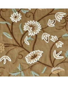 Grape Vine Crewel Upholstery Fabric This beautiful crewel embroidered fabric is remarkable for both its timeless design and exquisite craftsmanship. Please Click the image for more information.