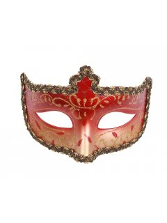 GW052 VENETIAN INSPIRED MASKS AVAILABLE IN RED BLUE BLACK GOLD GREEN OR PINK Please Click the image for more information.