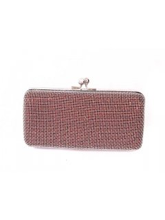H0483A GIGI EVENING BAGS  MESH CLUTCH AVAILABLE IN GOLD RED OR SILVER Please Click the image for more information.