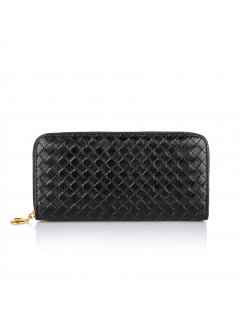 H0617 BLACK WOVEN WALLET Please Click the image for more information.