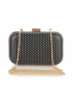 H0614 BLACKSILVER EVENING BAG Please Click the image for more information.