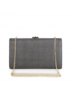 H0602B SILVER OVERSIZED EVENING BAG Please Click the image for more information.