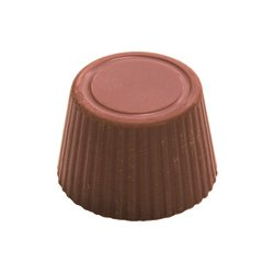ROSEWATER Milk chocolate rose water ganache. Fragrant centre smooth milk chocolatey texture of the traditional eastern Mediterranean rose traditionally favoured by the PomsOr. Please Click the image for more information.